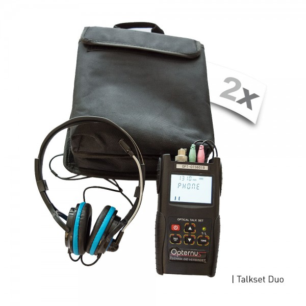 Opternus OPT-IX-TS601B optisches Talkset-Duo